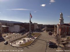 view from 13 East Market Street - Lewistown PA (west) on 2019-02-16