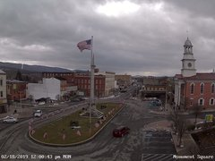 view from 13 East Market Street - Lewistown PA (west) on 2019-02-18