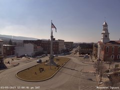 view from 13 East Market Street - Lewistown PA (west) on 2019-03-09