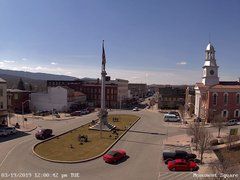 view from 13 East Market Street - Lewistown PA (west) on 2019-03-19