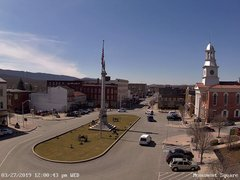 view from 13 East Market Street - Lewistown PA (west) on 2019-03-27