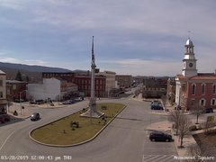 view from 13 East Market Street - Lewistown PA (west) on 2019-03-28