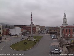 view from 13 East Market Street - Lewistown PA (west) on 2019-04-06