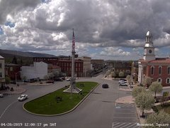 view from 13 East Market Street - Lewistown PA (west) on 2019-04-20