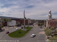 view from 13 East Market Street - Lewistown PA (west) on 2019-04-23