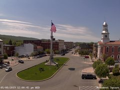 view from 13 East Market Street - Lewistown PA (west) on 2019-05-08