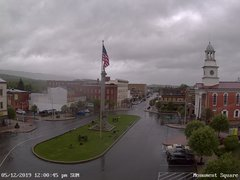 view from 13 East Market Street - Lewistown PA (west) on 2019-05-12
