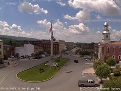 view from 13 East Market Street - Lewistown PA (west) on 2019-05-16