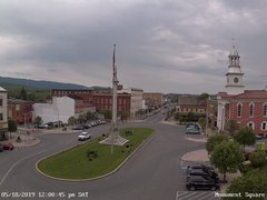 view from 13 East Market Street - Lewistown PA (west) on 2019-05-18