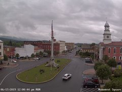 view from 13 East Market Street - Lewistown PA (west) on 2019-06-17