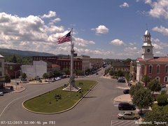 view from 13 East Market Street - Lewistown PA (west) on 2019-07-12