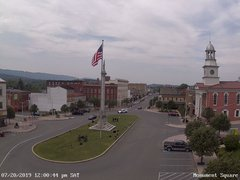 view from 13 East Market Street - Lewistown PA (west) on 2019-07-20