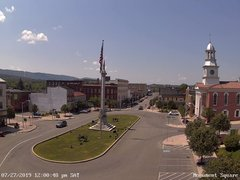 view from 13 East Market Street - Lewistown PA (west) on 2019-07-27