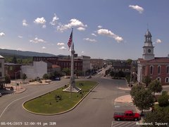 view from 13 East Market Street - Lewistown PA (west) on 2019-08-04
