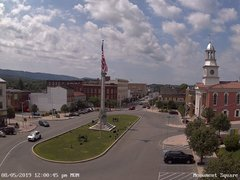view from 13 East Market Street - Lewistown PA (west) on 2019-08-05