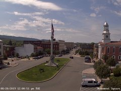 view from 13 East Market Street - Lewistown PA (west) on 2019-08-20