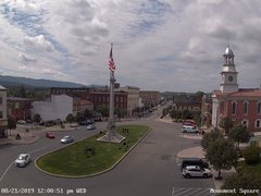 view from 13 East Market Street - Lewistown PA (west) on 2019-08-21