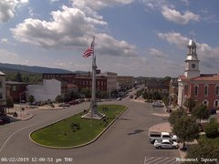 view from 13 East Market Street - Lewistown PA (west) on 2019-08-22