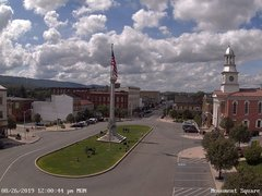view from 13 East Market Street - Lewistown PA (west) on 2019-08-26