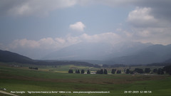 view from Pian Cansiglio - Casera Le Rotte on 2019-07-20