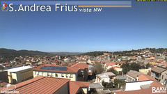 view from Sant'Andrea Frius on 2019-03-12