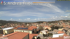 view from Sant'Andrea Frius on 2019-03-19