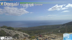 view from Monte Longu on 2019-10-06