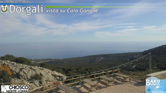 view from Monte Longu on 2019-12-06