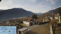 view from Valle Vigezzo on 2020-01-24
