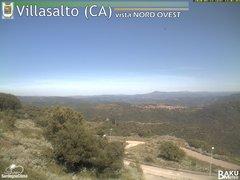 view from Villasalto on 2020-05-23