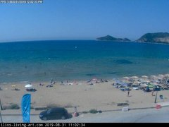 view from Agios Georgios NW Corfu Greece on 2019-08-31