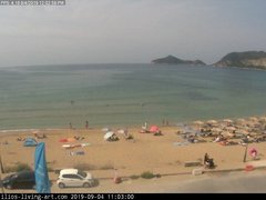 view from Agios Georgios NW Corfu Greece on 2019-09-04