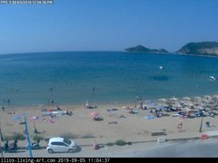 view from Agios Georgios NW Corfu Greece on 2019-09-05