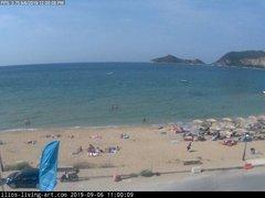 view from Agios Georgios NW Corfu Greece on 2019-09-06