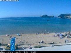 view from Agios Georgios NW Corfu Greece on 2019-10-14