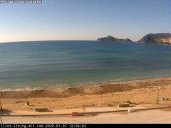 view from Agios Georgios NW Corfu Greece on 2020-01-07
