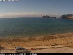 view from Agios Georgios NW Corfu Greece on 2020-01-10