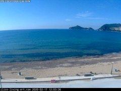 view from Agios Georgios NW Corfu Greece on 2020-02-17