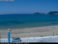 view from Agios Georgios NW Corfu Greece on 2020-07-03