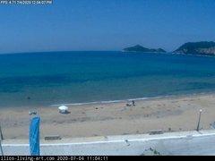 view from Agios Georgios NW Corfu Greece on 2020-07-04
