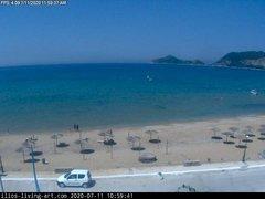 view from Agios Georgios NW Corfu Greece on 2020-07-11
