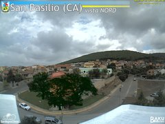 view from San Basilio on 2019-10-15