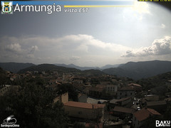 view from Armungia on 2020-03-30