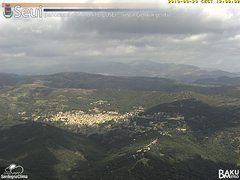 view from Monte Lusei Seui on 2019-09-23