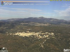 view from Monte Lusei Seui on 2019-12-02