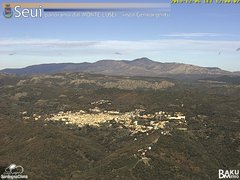view from Monte Lusei Seui on 2019-12-06