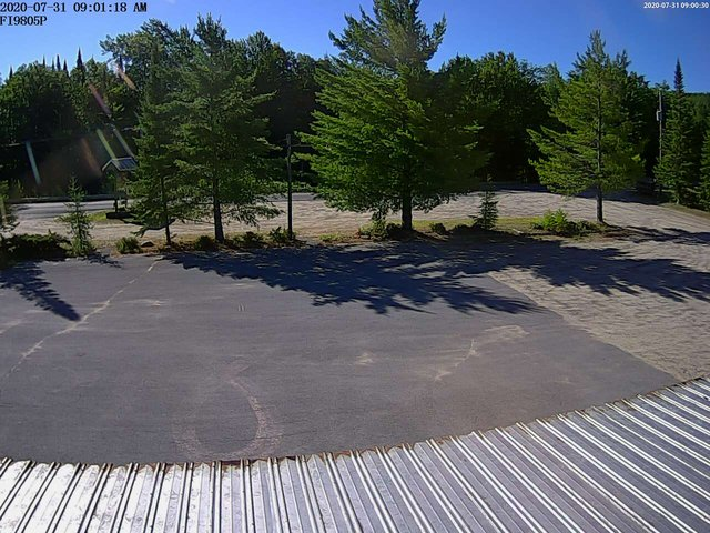 time-lapse frame, The Ole Barn webcam