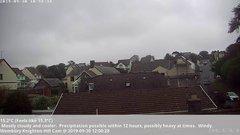 view from Wembury, Devon. Knighton Hill Cam on 2019-09-30