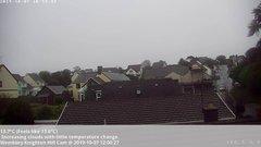 view from Wembury, Devon. Knighton Hill Cam on 2019-10-07