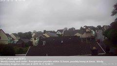 view from Wembury, Devon. Knighton Hill Cam on 2019-10-11
